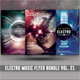 Electro Music Flyer Bundle Vol. 21 - GraphicRiver Item for Sale