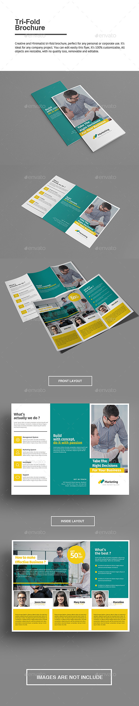GraphicRiver Trifold Brochure 9385453