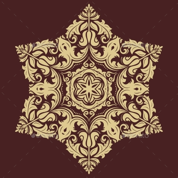 GraphicRiver Floral Vector Pattern 9458659