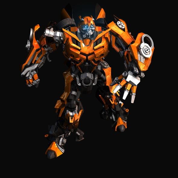 3DOcean Transformers-Bumblebee 9458664