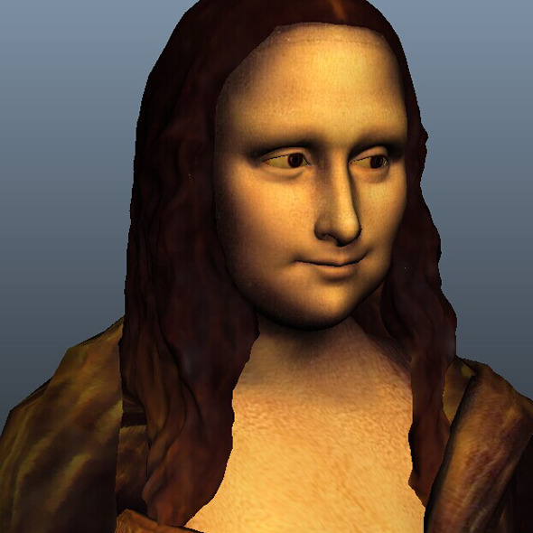 3DOcean Mona Lisa AND expression blend 9458871