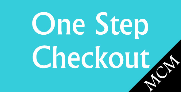 CodeCanyon Magento One Step Checkout 9458919