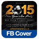 New Year's Eve Party FB Cover - GraphicRiver Item for Sale