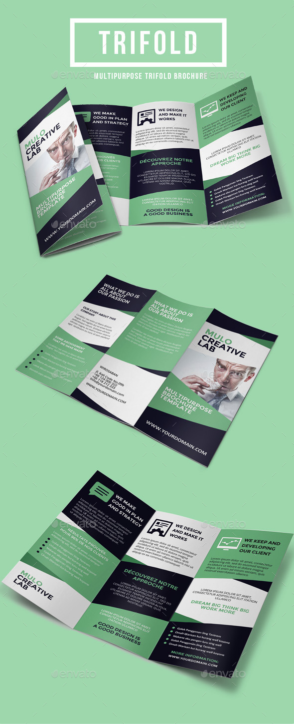 GraphicRiver Multipurpose Trifold Brochure Vol 5 9459375