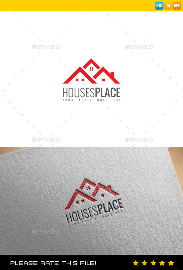 GraphicRiver Real Estate Logo 9459929