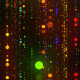 Colorful Glowing Particle Rain Fly Through - VideoHive Item for Sale