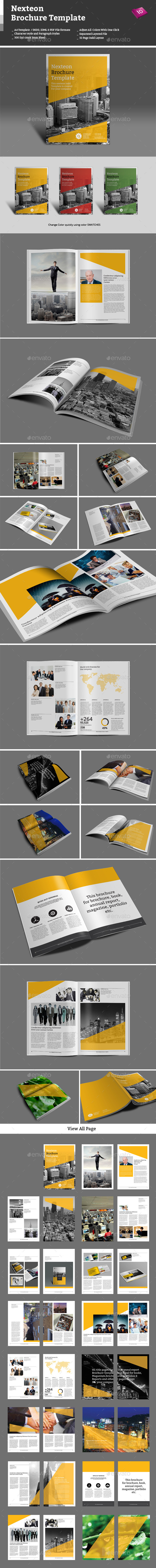 GraphicRiver Nexteon Brochure Template 9460175
