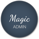 Magic - Clean Responsive Admin with AngularJS