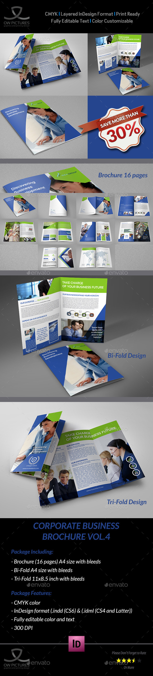GraphicRiver Company Brochure Bundle Vol.4 9460517