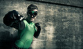 Superhero punching his enemy - PhotoDune Item for Sale