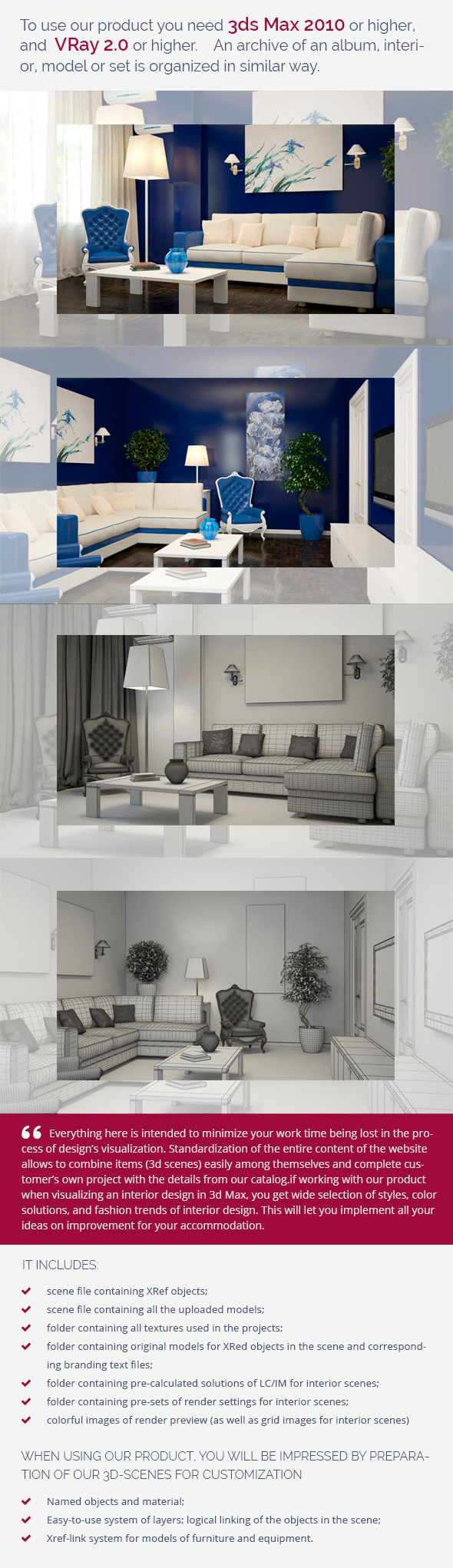 3DOcean Living Room 0173 9460625