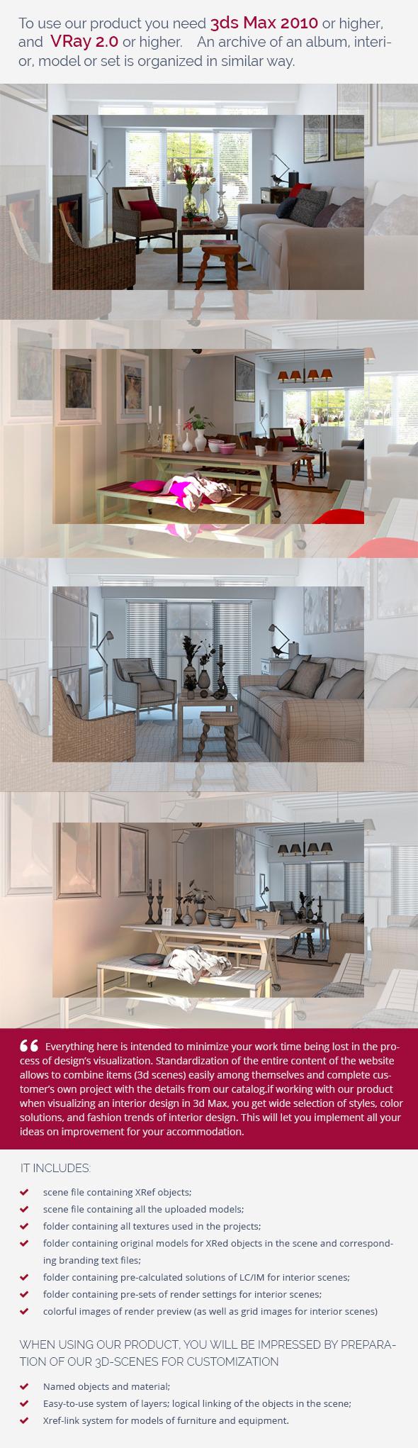 3DOcean Living Room 0368 9460803