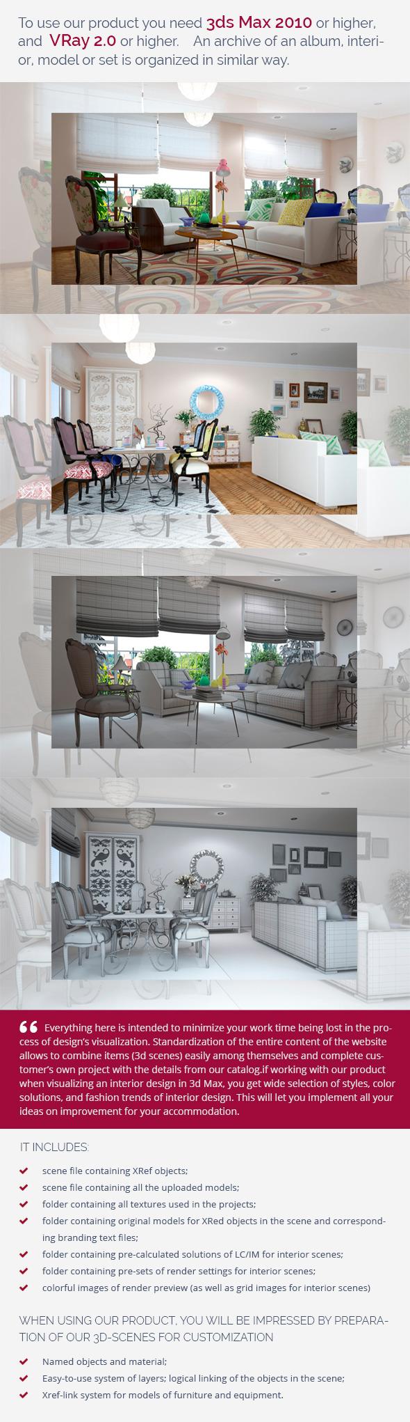 3DOcean Living Room 0439 9461321