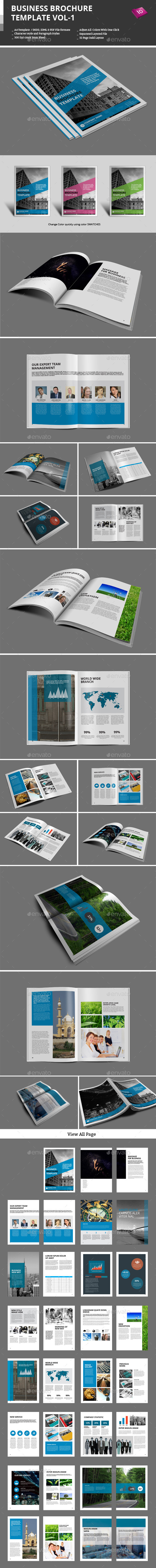 GraphicRiver Business Brochure Templates Vol-1 9461465