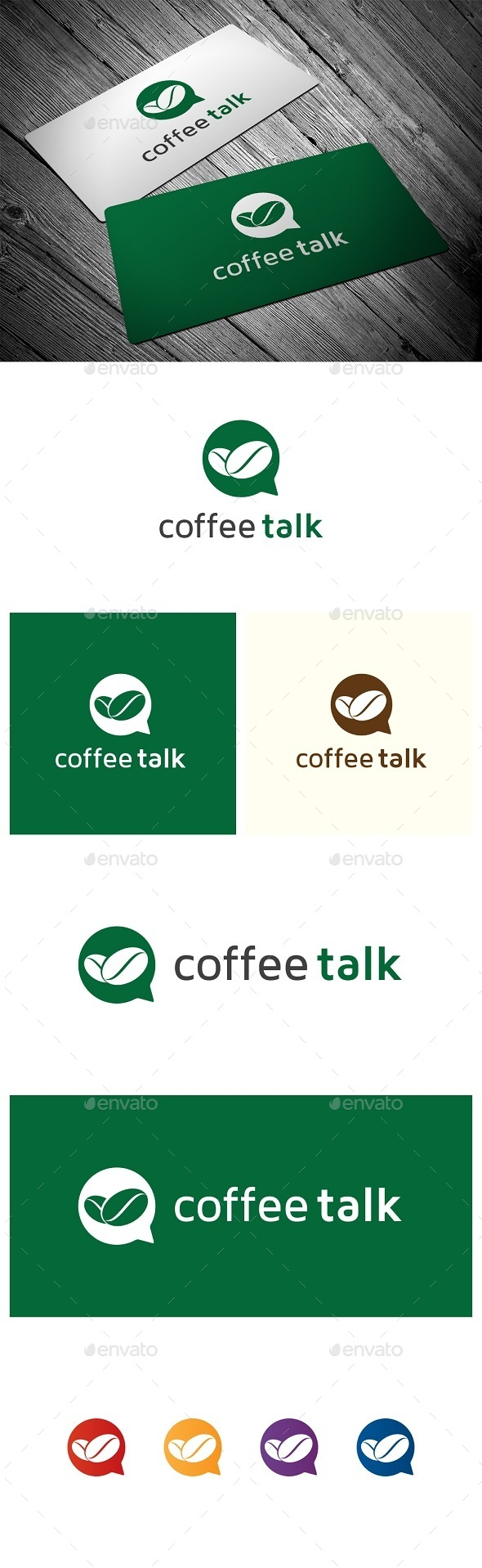 GraphicRiver Coffee Talk 9461547