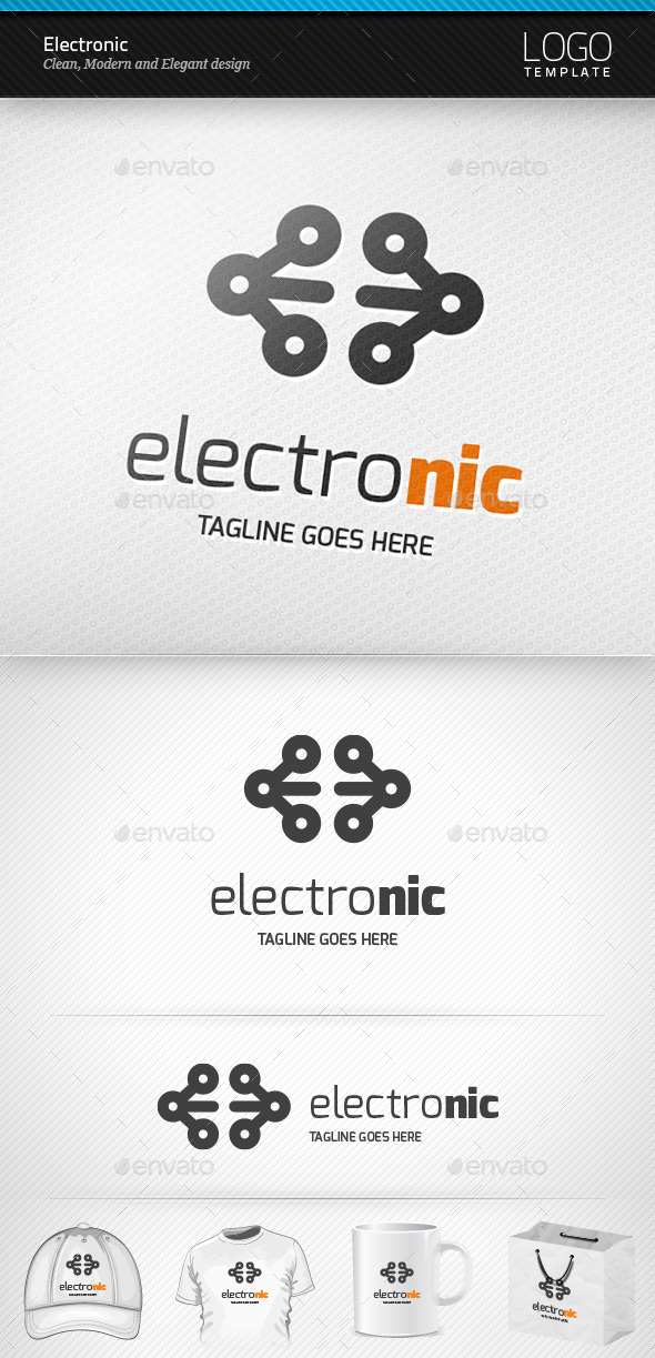 GraphicRiver Electronic Logo 9462836