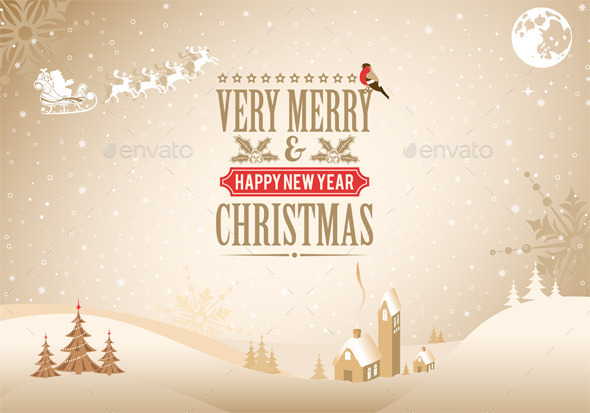 GraphicRiver Christmas Background 9463291