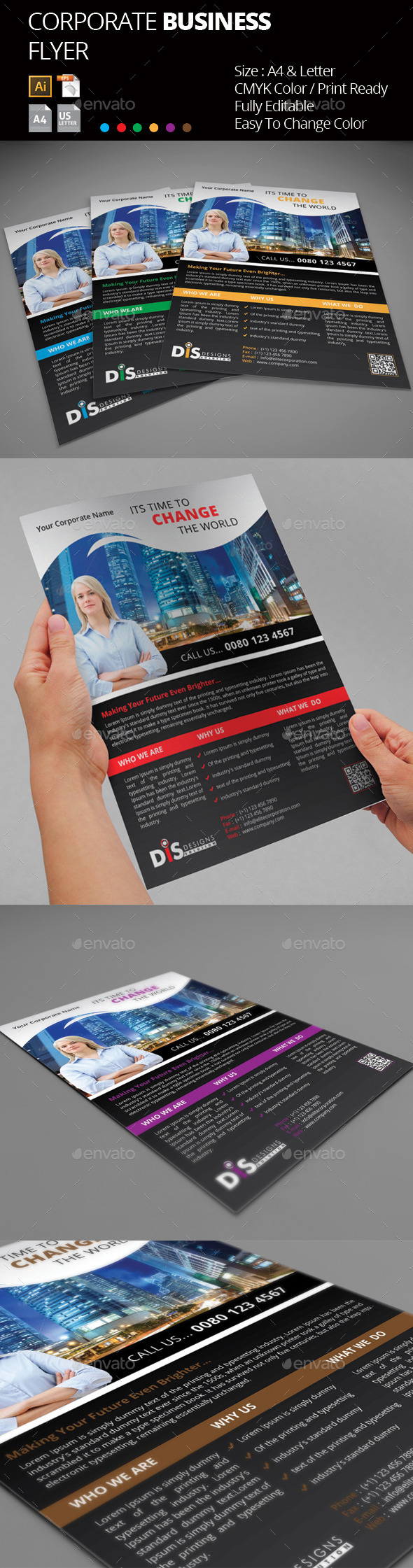 GraphicRiver Flyer Flyer Template 9463367