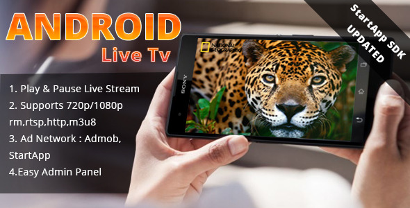 Android Live TV - CodeCanyon Item for Sale