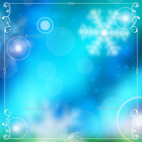 GraphicRiver Christmas Background 9463543