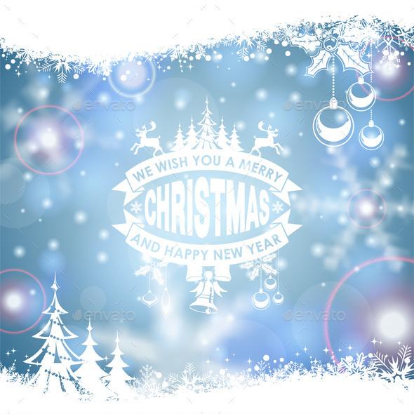 GraphicRiver Christmas Frame 9463548