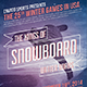 Winter Sports Creative Poster/Flyer Vol.2 - GraphicRiver Item for Sale