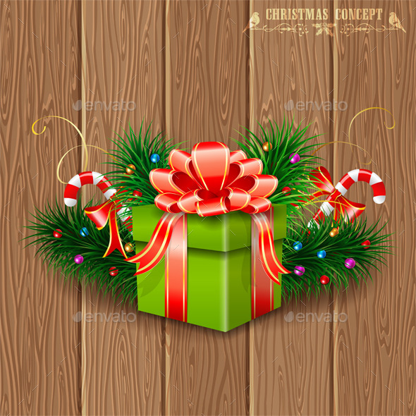 GraphicRiver Christmas Gift 9463615
