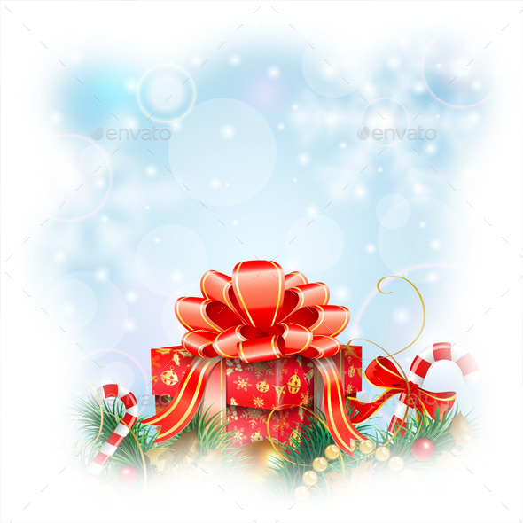GraphicRiver Christmas Background 9463637