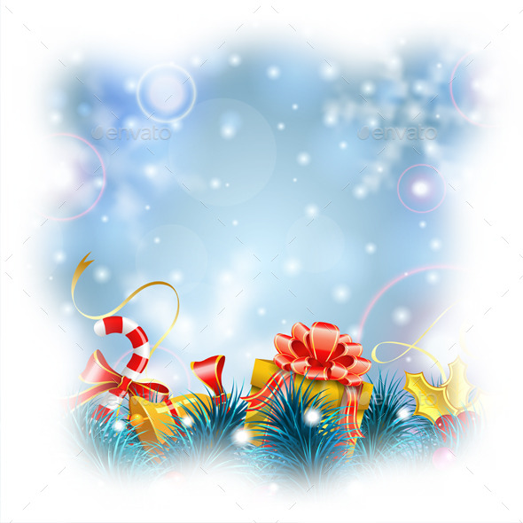 GraphicRiver Christmas Background 9463651
