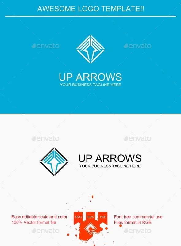 GraphicRiver Up Arrows Logo 9427335