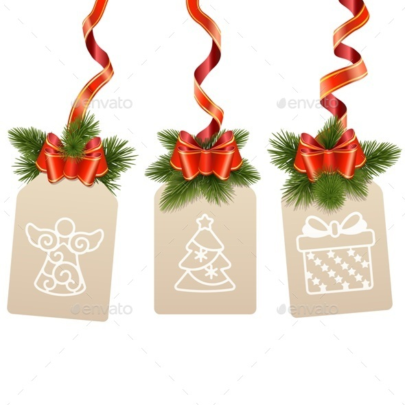 GraphicRiver Christmas Labels 9464153