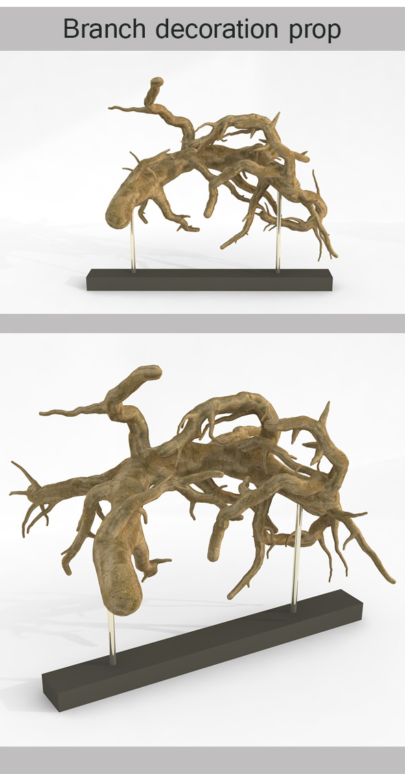 Branch Decoration Prop - 3DOcean Item for Sale
