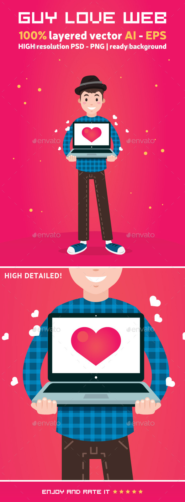 GraphicRiver Guy Love Web 9464370