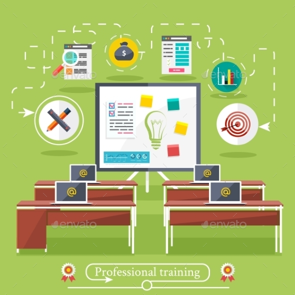 GraphicRiver Professional Education Class 9464689