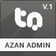 Azan – Bootstrap Responsive Admin Template (Admin Templates) Download