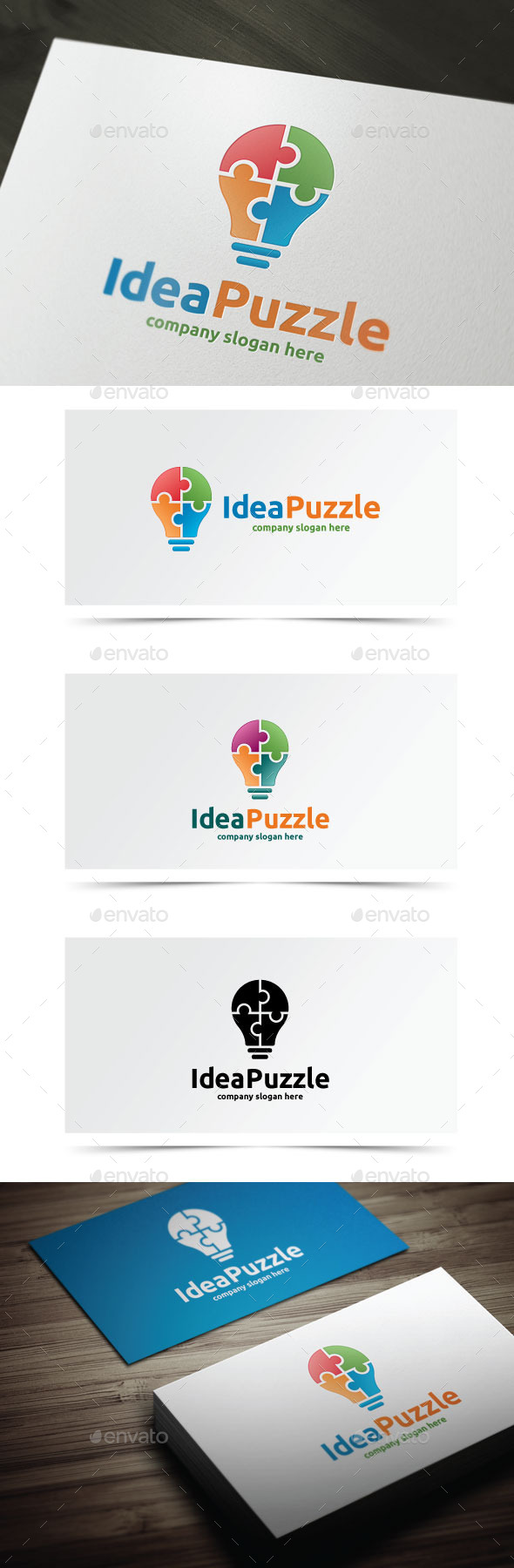 GraphicRiver Idea Puzzle 9464879