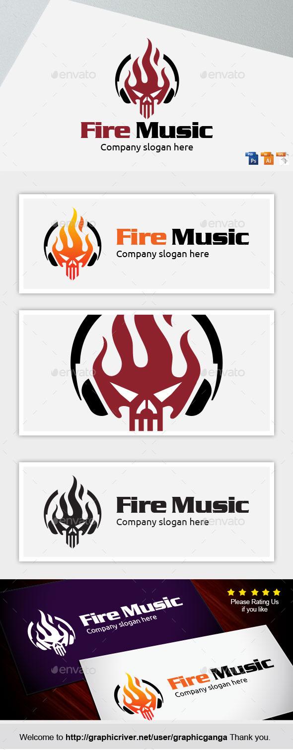 GraphicRiver Fire Music 9464918