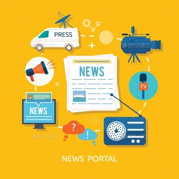 GraphicRiver News Portal 9465347