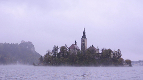 VideoHive Island In Lake Bled 2 9465350