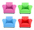 Four armchairs - PhotoDune Item for Sale
