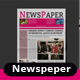 Newspaper Template Vol-1 - GraphicRiver Item for Sale