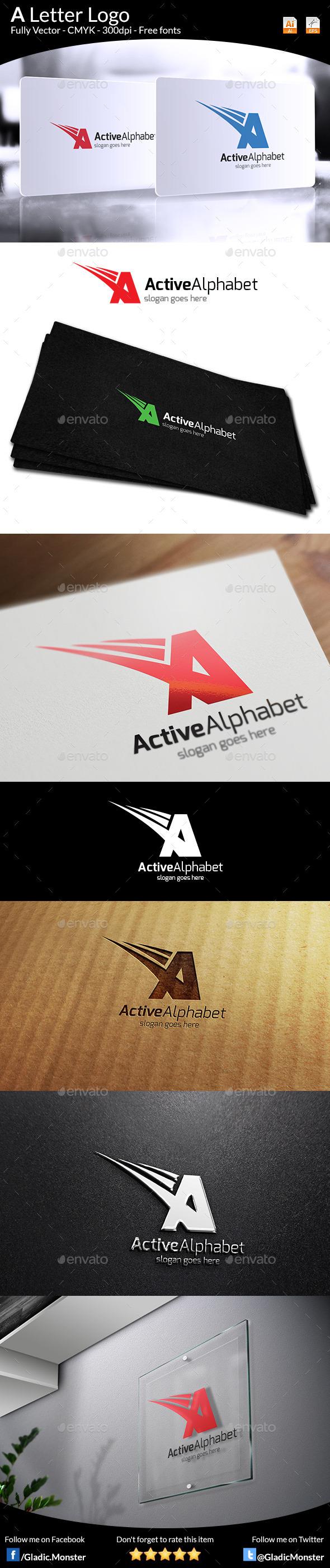 GraphicRiver Letter A Logo 9466066