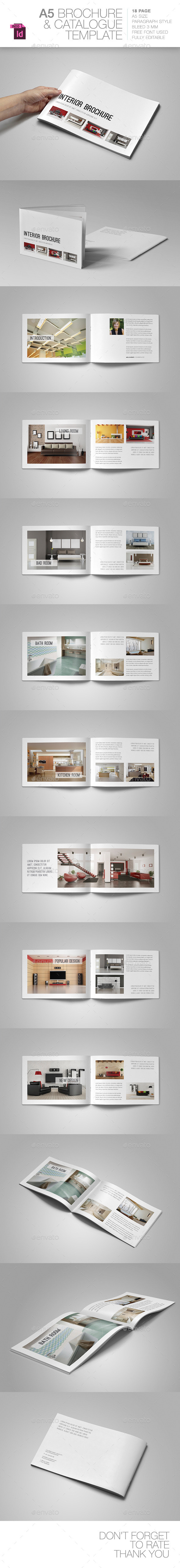 GraphicRiver A5 Brochure Template 9466122