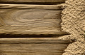 Background with wood and sand - PhotoDune Item for Sale