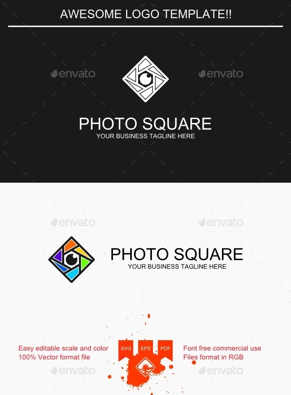 Photo Square Logo