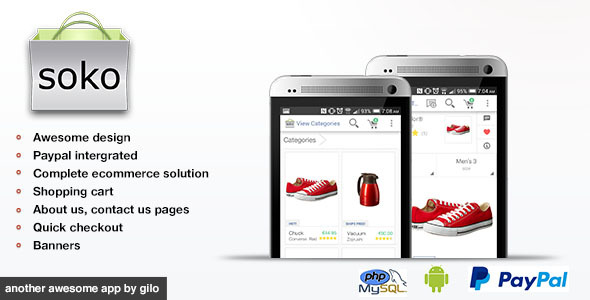 CodeCanyon Soko Ecommerce App Full App 9447153