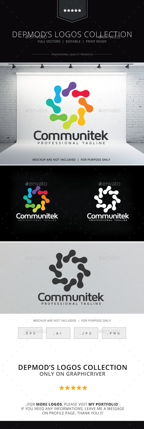 GraphicRiver Communitek Logo 9467523