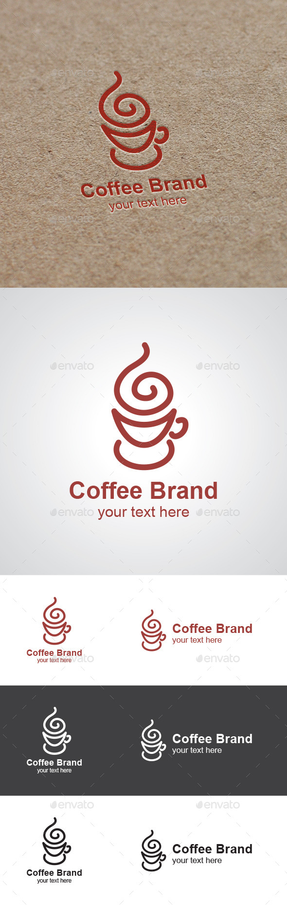 GraphicRiver Coffee Brand Logo 9467548