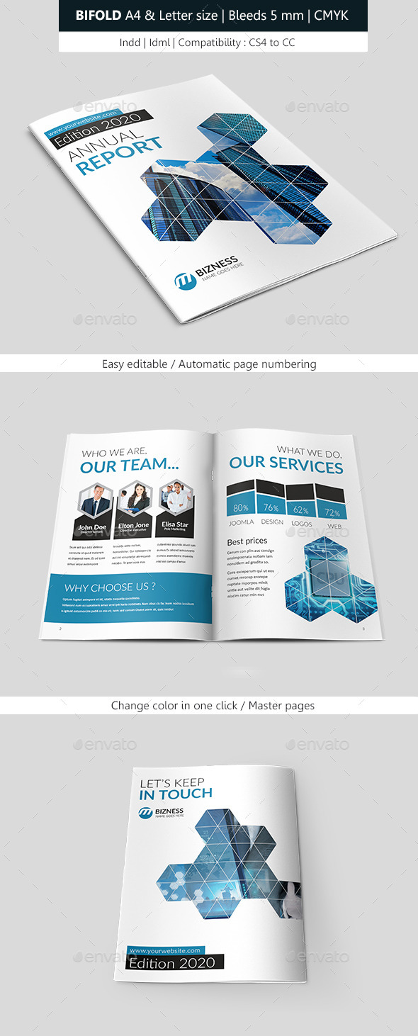 GraphicRiver Business Brochure Template 9430678