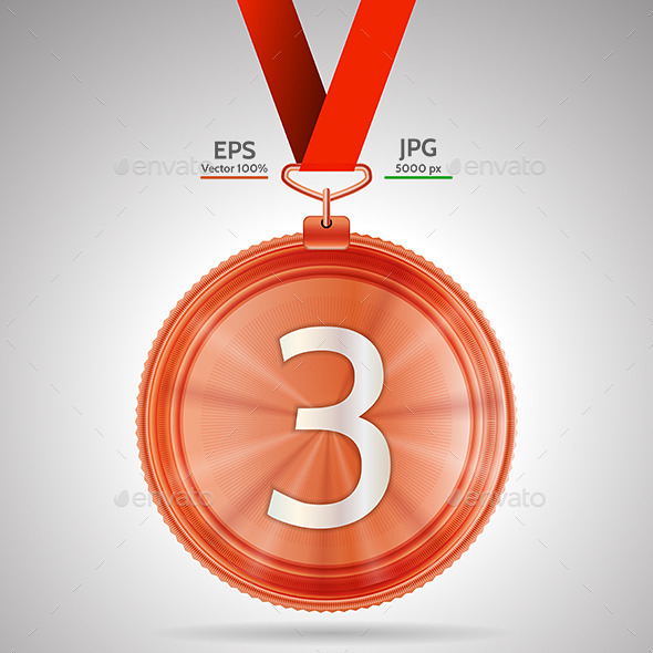 GraphicRiver Medal Third Place 9467631